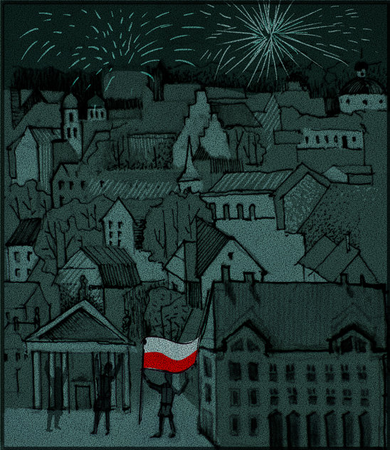 21 kwietnia - Oddziały Polskie zajmują Wilno!